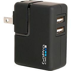Cargador muro para GoPro 2 USB negro
