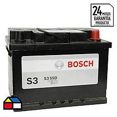 Batería libre mantención 55 A 12 V Derecho positivo