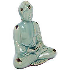 Buda porcelana turquesa 25,5 cm