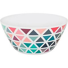 Bowl redondo 25 cm melamina triangulos