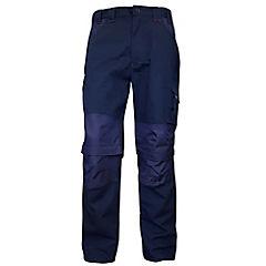 Pantalón de trabajo desmontable talla M azul