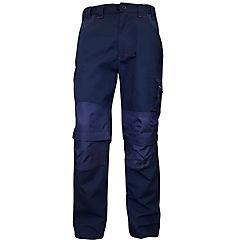 Pantalón de trabajo desmontable talla XL azul