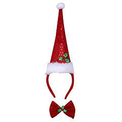 Surtido diademas y anteojos navidad