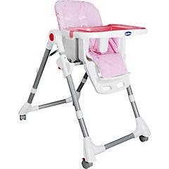 Silla de comer para bebé 83x60x106 cm rosado
