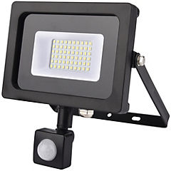 Reflector led plano 20 W con sensor