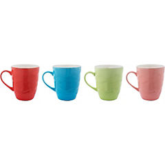 Set 4 mugs colores