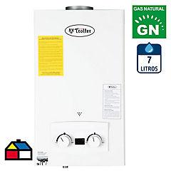 Calefón tiro natural 7 litros gas natural