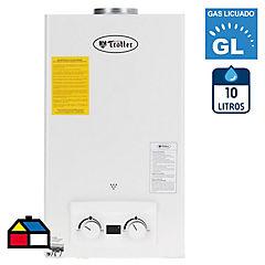 Calefón tiro natural 10 litros gas licuado