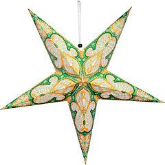 Estrella colapsable 20 led verde