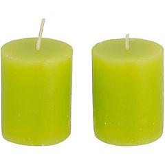 Pack de 2 velas votiva citrus