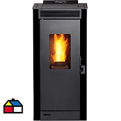 Calefactor a pellet Eco Smart negro