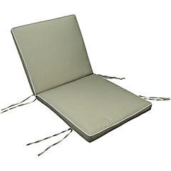Repuesto cojín para silla poliéster verde