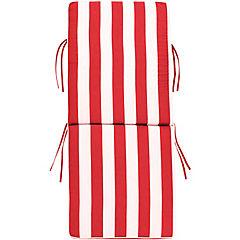 Repuesto cojín para silla poliéster rojo