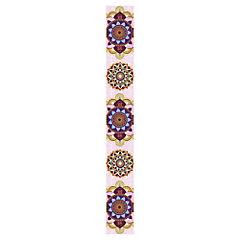 Sticker Guarda Ventana Mandala rosado 12x100 cm
