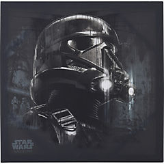Canvas Rogue One Death Trooper black 40x40 cm