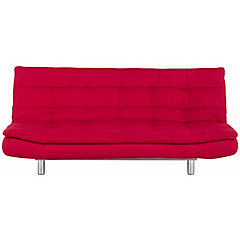 Futón Rio 90x198x111 cm rojo