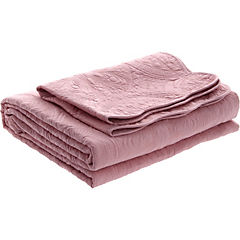 Quilt Portugal rosa palo 1,5 plazas