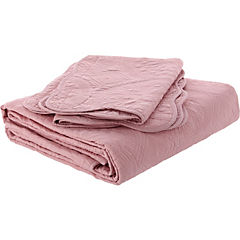 Quilt Portugal rosa palo 2 plazas