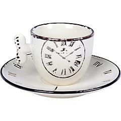 Juego de té 4 piezas blanco