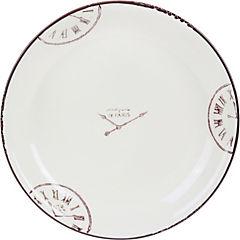 Set de platos para ensalada 21 cm 2 unidades blanco
