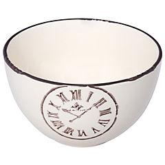 Set de 2 bowls 13x8 cm blanco