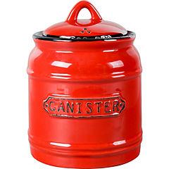 Canister 15 cm rojo