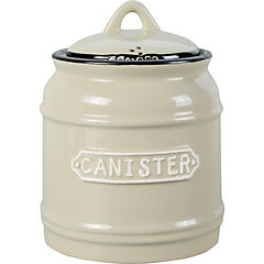 Canister 15 cm gris