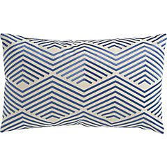 Cojín Líneas azul 30x50 cm