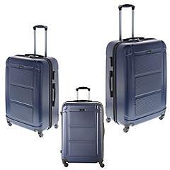 Set de maletas 3 piezas Pilot azul