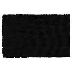 Piso para baño algodón 40x60 cm negro