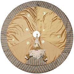 Pie de árbol 106 cm dorado