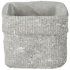Macetero cerámica Bolso 17x17x15 cm