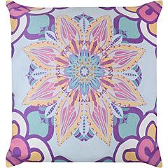 Cojín Mandala celeste 60X60 cm