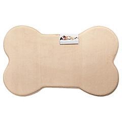 Alfombra para mascotas 50x80 cm beige