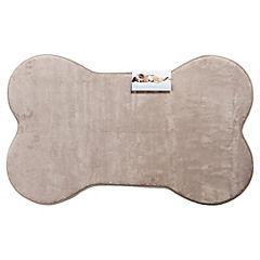 Alfombra para mascotas 50x80 cm gris