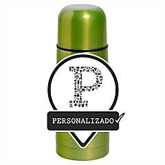 Termo líquido 0,5 l verde personalizado