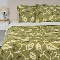 Quilt Sherpa king Puyehue verde