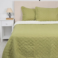 Quilt Sherpa king pistacho