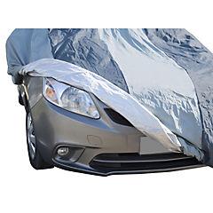 Cobertor de auto talla M-L gris claro poliéster