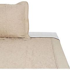 Quilt Linen taupe 1,5 plazas