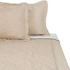 Quilt Linen taupe 2 plazas