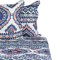 Quilt Costa coral 2 plazas