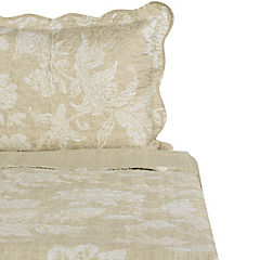 Quilt Ingles taupe 1,5 plazas