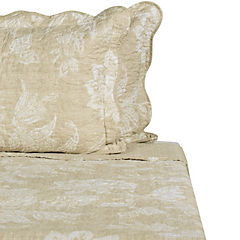 Quilt Ingles taupe 2 plazas