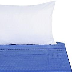 Quilt 1,5 plazas azul