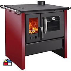 Cocina a leña 4 quemadores