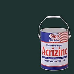 Pintura techo Acrizinc 1 galón Verde Musgo