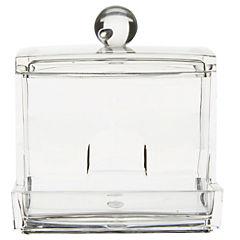 Organizador de bastoncillos 250 ml Transparente