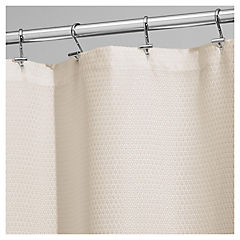 Cortina de baño Paxton poliéster 180x180 cm beige