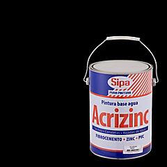Pintura para techo a base de agua satinado 1 gl Negro